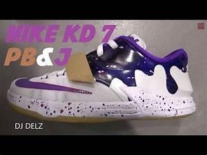 Nike KD 7 Peanut Butter & Jelly PB&J GS Sneaker Review W ...