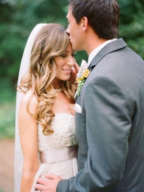 Hair down with veil   Weddingbee