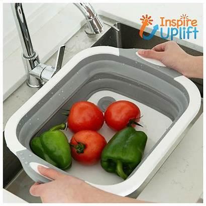 Chopping Board Washing Vegetables Fruits Wash Inspireuplift