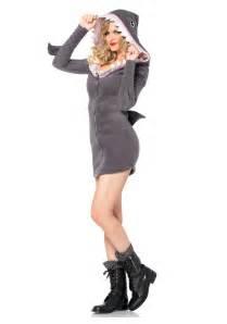 Leg Avenue Cozy Shark Adult Halloween Costume, Women's, Size: Small, Gray