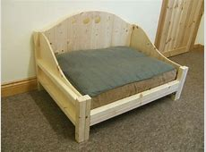 Wooden Dog Bed Diy WoodWorking Projects & Plans