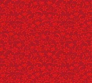 Free Red Flower Pattern Background Vector - TitanUI