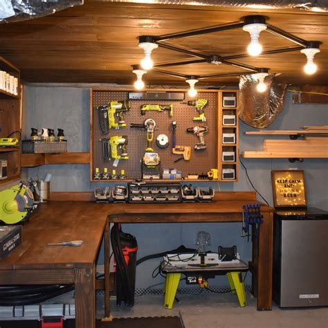basement workshop ryobi nation projects