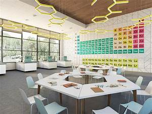 interior design of the children educational center With interior decorator education