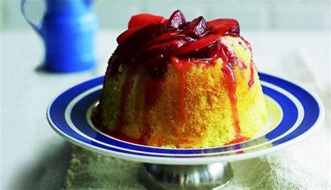 Šarlote ar olu krēmu un plūmēm   Recipe   Food, Tasty, Desserts