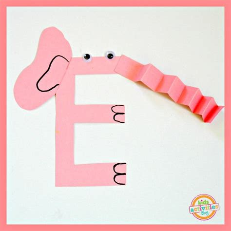 letter e crafts letter e craft e is for elephant 8856