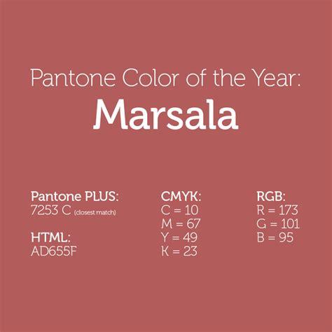 2015 pantone color of the year pantone 2015 color of the year marsala the graphic mac
