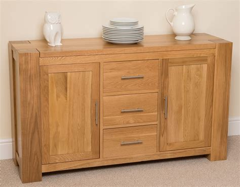 Large Sideboard Oak by Kuba Solid Large Oak Sideboard Free Uk Delivery