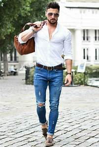 Best 25+ White shirt men ideas on Pinterest   Classic man Business casual men and Chris brown t ...