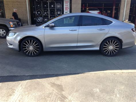 20 inch wheels on a chrysler 200 yelp