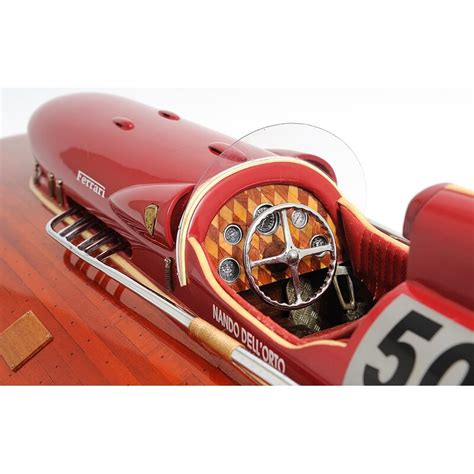 Model boat test ferrari arno x1. Old Modern Handicrafts Ferrari Hydroplane Model Boat | Wayfair