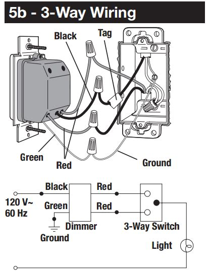 3 Way Switch Dimmer Wiring Diagram by Wiring Diagram For 3 Way Dimmer Switch With 5 Wiring Data