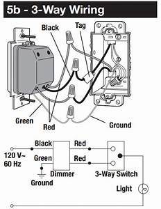 1 Way Dimmer Switch Wiring Diagram