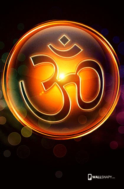 Om Animation Wallpaper - 3d om symbol hd images primium mobile wallpapers