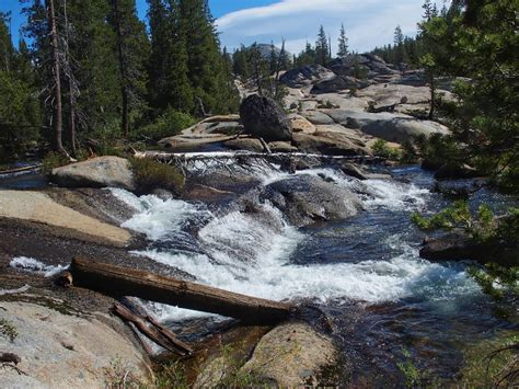 Hiking Tenaya Creek Waterslide Overlook Yosemite Np