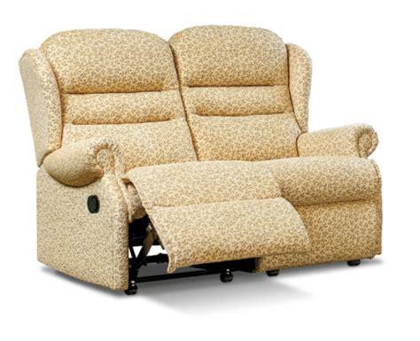 ashford standard fabric reclining 2 seater settee f l