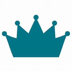 Turquoise clipart princess crown - Pencil and in color ...