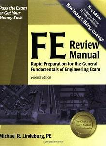 Fe Review Manual  Rapid Preparation For The General