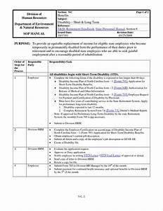warehouse standard operating procedures template With supply sop template
