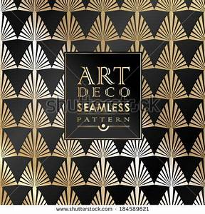 Motif Art Deco : art deco vintage wallpaper pattern can be used for ~ Melissatoandfro.com Idées de Décoration