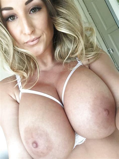 Hot British Busty Model Stacey Self Shot Big Tits Bra 7