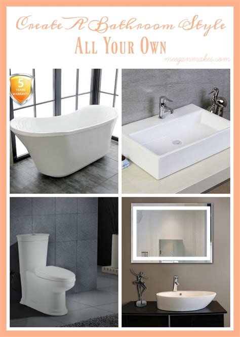 design your own bathroom create a bathroom style all your own what meegan makes