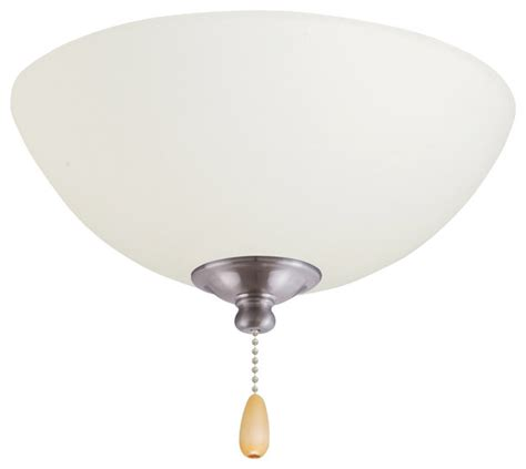 tilo light fixture ceiling fan bowl caps brushed silver