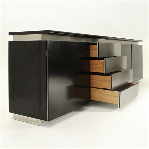 Black And White Sideboard by Black And White Parioli Sideboard By Lodovico Acerbis And