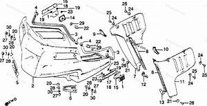 Honda Motorcycle 1981 Oem Parts Diagram For Fairing