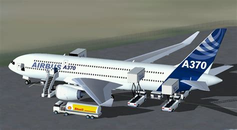 Airbus A370 Double Decker Twinjet For Fsx