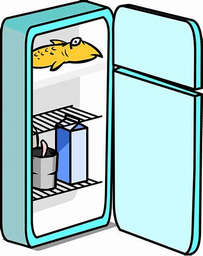 Fridge Clipart Getdrawings Transparent Labeled Cool Webstockreview