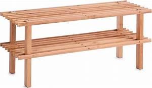 Schuhregal Holz Weiss : home affaire schuhregal aus bambusholz kaufen otto ~ Markanthonyermac.com Haus und Dekorationen