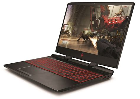 hp s omen 15 gaming laptop gets a new look and a gtx 1070 max q gpu