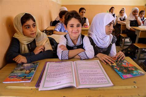 unicef helps  children access education  iraq