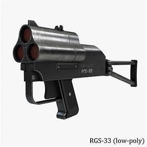 grenade launcher special 3d model