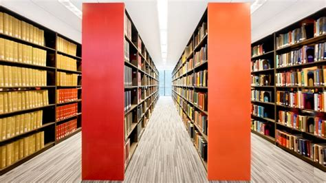 College Library Government Documents Mobile Shelving