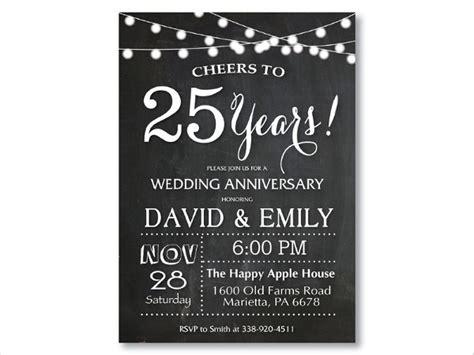 anniversary invitation cards psd ai vector eps