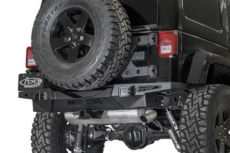 jeep jk stealth fighter rear bumper add