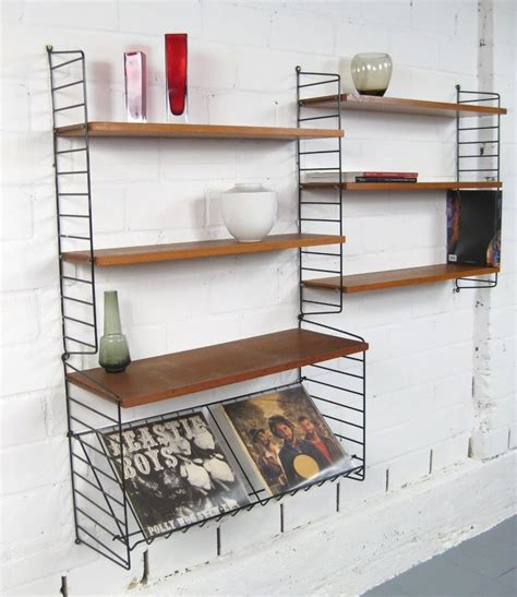 String Regal Küche by Nisse Strinning String Regal Wall Unit Cadovius