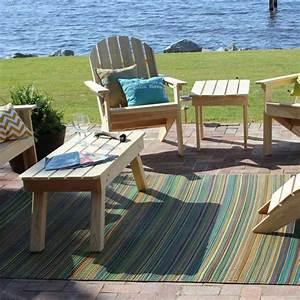 tapis dexterieur pour une deco moderne et conviviale With tapis exterieur avec canapé miami