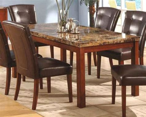 missouri table chair marble top dining table mo 8812tb