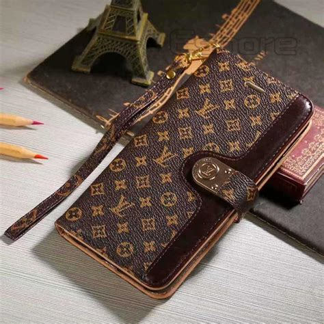 louis vuitton leather wallet case  samsung galaxy note    phone swag