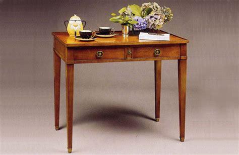 caissons bureau table à ecrire en merisier meubles hummel