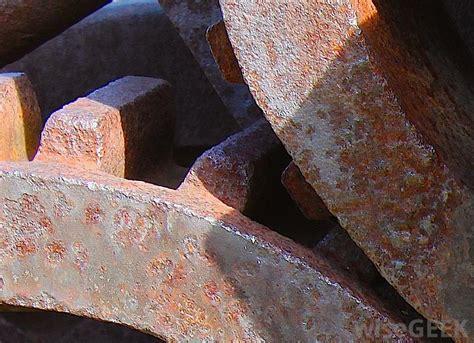 oxidation metal oxidized gears rusty