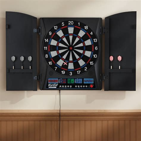 cat electronx electronic dartboard with cabinet lake city hobbies