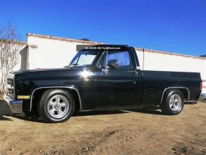 Black 1986 Chevy Silverado Short Bed Fleet Size