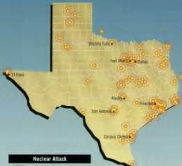 Nuclear War Target Map