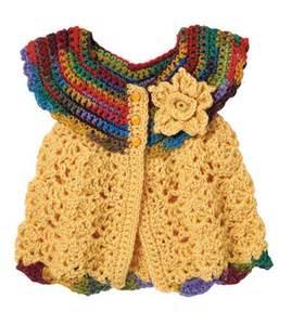 Free Pattern Crochet Baby Sweater Dress