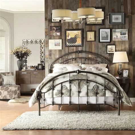 fer forg chambre coucher déco chambre lit fer forge