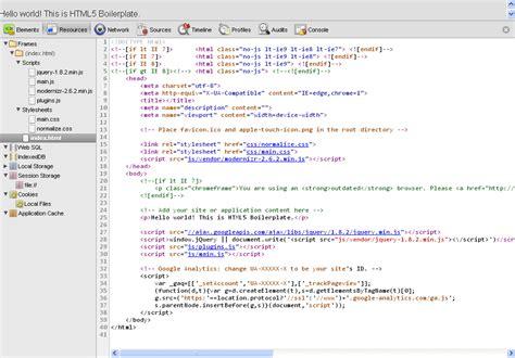 html5 code gallery